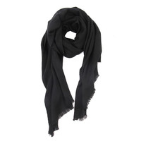 inner mongolia ladies winter warm 26s/2 pure cashmere infinity scarf plain color pashmina scarves shawl