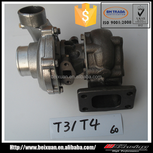 oil cooled turbo for Honda civic 92-2000 turbocharger T3 T4 cheap turbos for sale