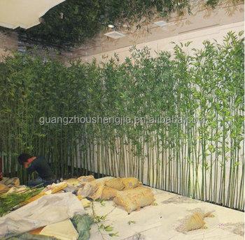 Q092321home U0026 Garden Decoration Artificial Bamboo Plants Outdoor Artificial  Bamboo Pole