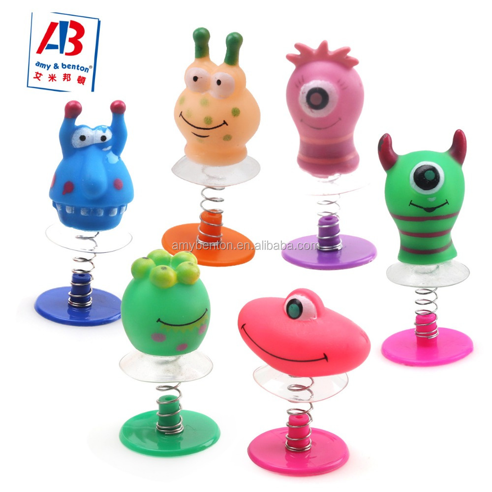 Best gift children education toys small plastic pop up toys jump up toys for boys