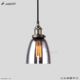Newest design modern smoke gray glass shade ceiling lighting chandelier for home/hotel