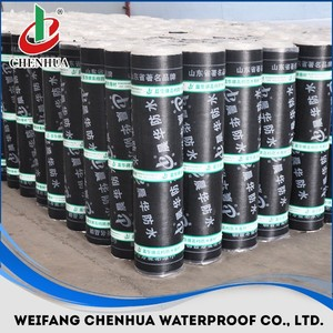 3mm torch on APP/SBS modified bitumen waterproof membranes