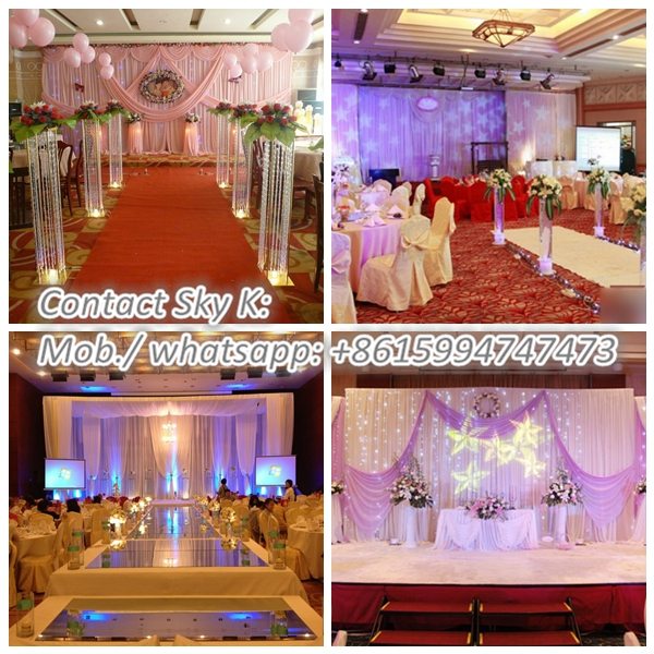 wholesale innovative systems pipe and drape lowest price photo booth package/ wedding tent