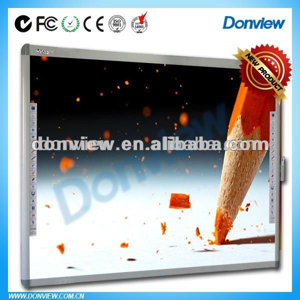 Portable touch screen electronic teaching board