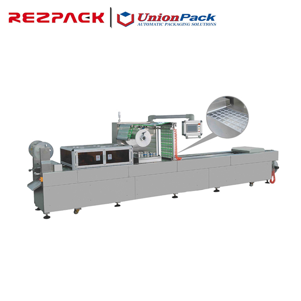 China factory wholesale thermoforming automatic vacuum packaging machine