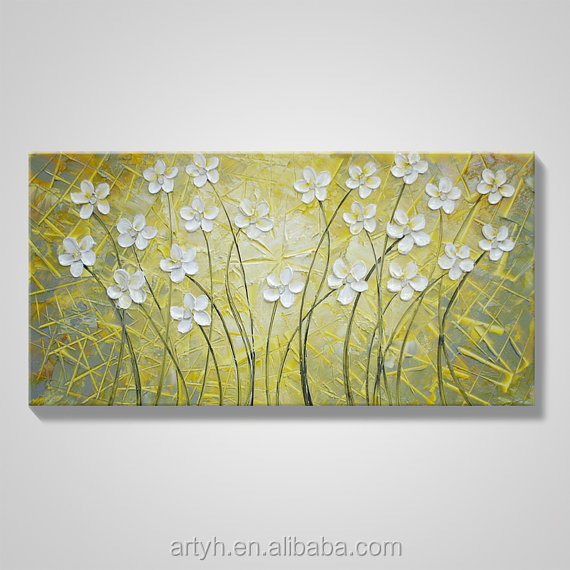 Wall Art Flower Painting, Wall Art Flower Painting Suppliers and ...