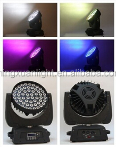 stage projection 56x10w 4in1 led moving head wash light with zoom