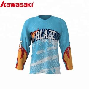 787772f03dd Dye sublimation Slim fit blank 5xl cheap custom team hockey jersey