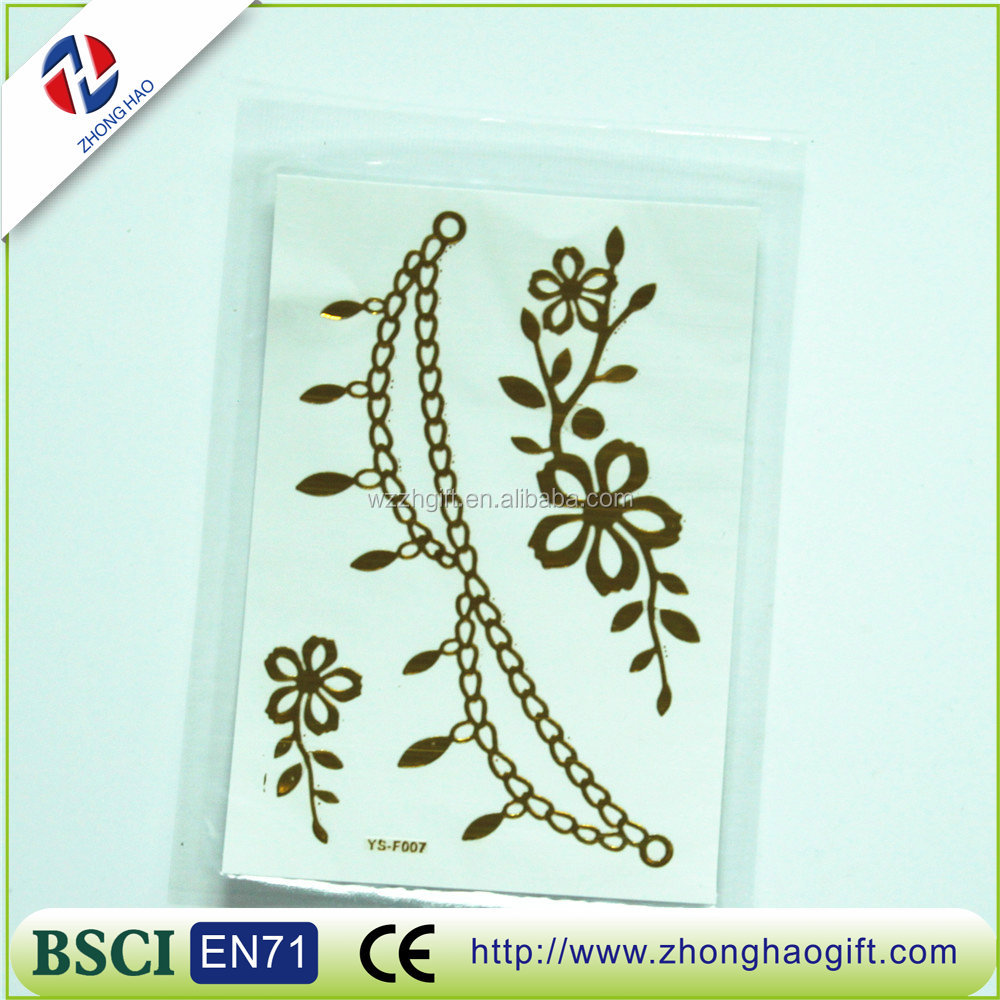 popular other special shape hair tattoo sticker