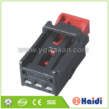 Red Clip Wire Cable Housing,3 Pin Connector Wire Harness,Plastic Pole Wire Harness Plastic Clips on