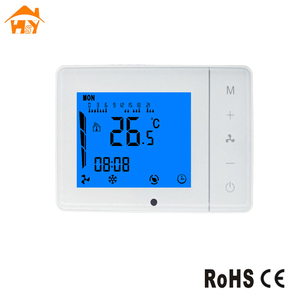 Fan coil unit 0-10v thermostat 24v temperature controller thermostat