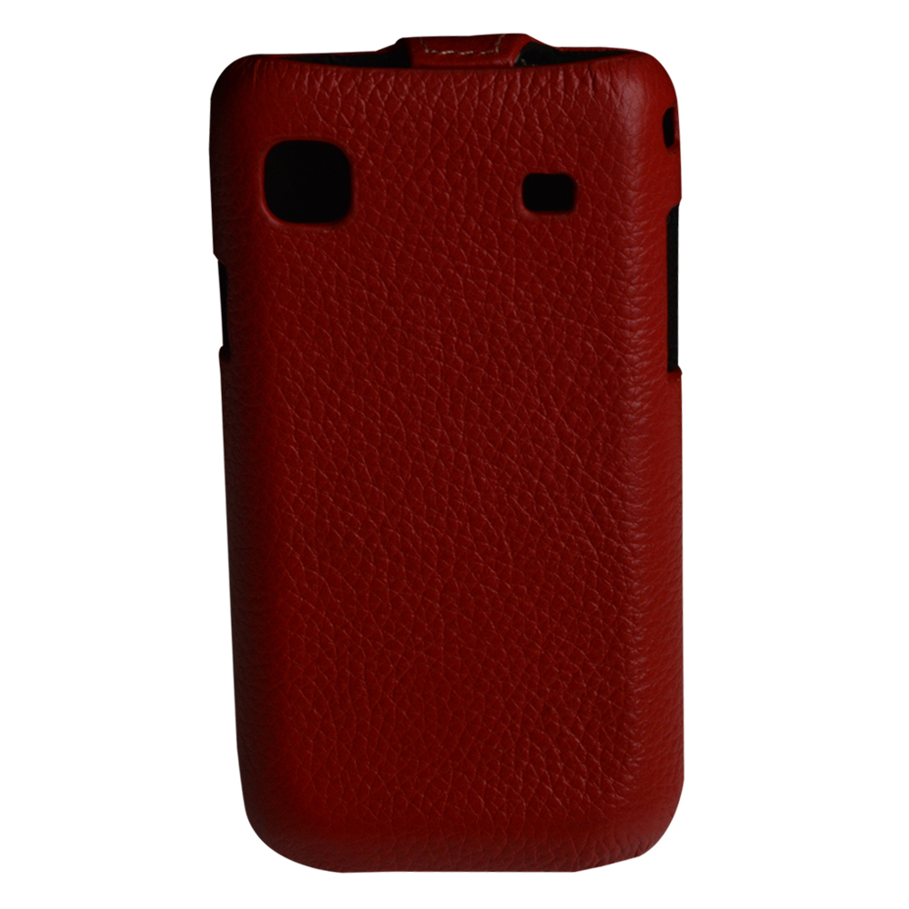 PU leather solid pattern Flip Case For Samsung Galaxy SL i9003 Back Cover + i9003 screen protector