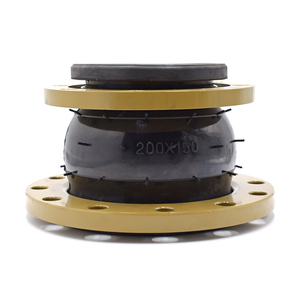 EPDM Reduced rubber expansion joints DN125