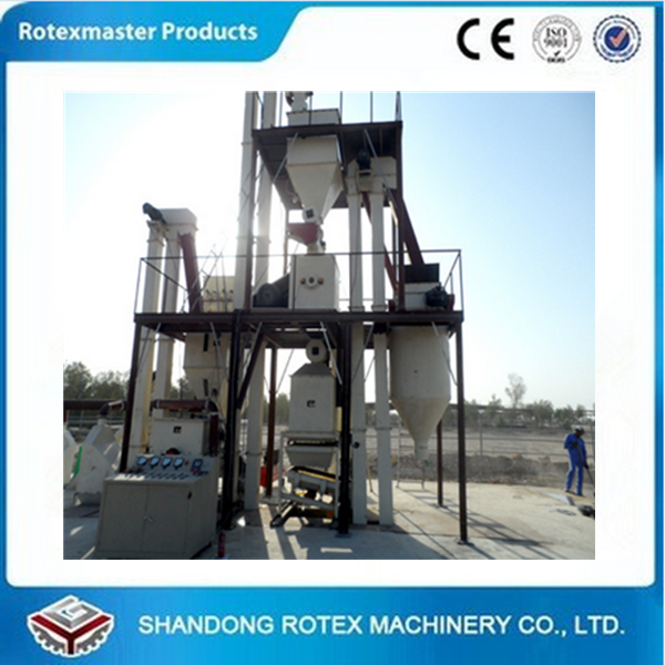 Full Automatic Complete Turn-key Animal Feed Pellet Production Line More than 10 TPH