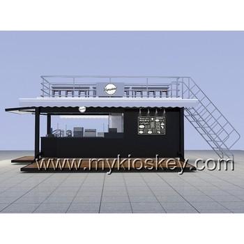 ff3337e818e031 Outdoor Ice Cream Shop Container Coffee Shop Design For Sale - Buy ...