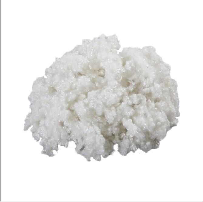 White 15d hcs 100% polyester stuffing pp staple fiber filling pillow