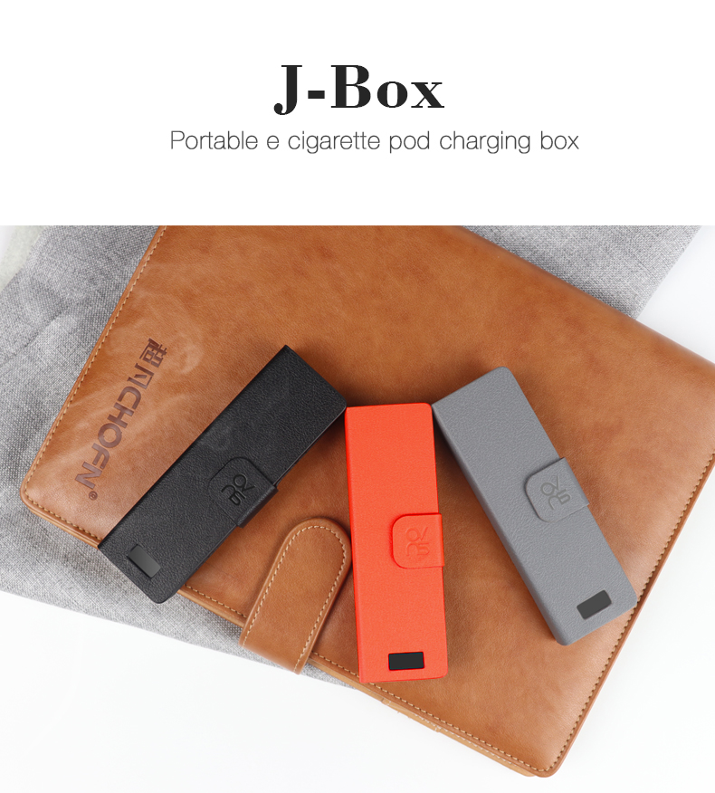 Popular E cigarette Power bank Ovns J-Box 1200 mAh For Vape pod system