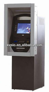 Wall Through Smart wireless Internet Account access, transaction Touch Screen Multifunction ATM