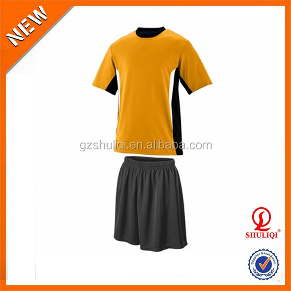 American style football uniforms/soccer man dry fit uiforms/wholesale cheap soccer uniform