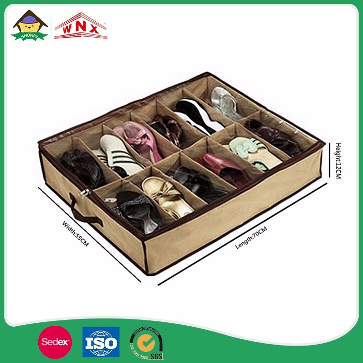 Non Woven Under Bed Open Lid Underbed Storage Box