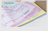 custom receipt book carbonless order book 3 part form
