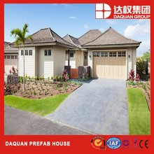 European standard prefabricated modular house villa kit 1-story