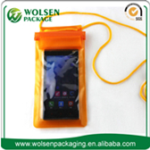 2019 low price china PVC waterproof case bag waterproof mobile phone pouch for smartphone