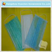 China New Design 3-ply Non-woven Disposable Surgical Face Mask with Ear-loop
