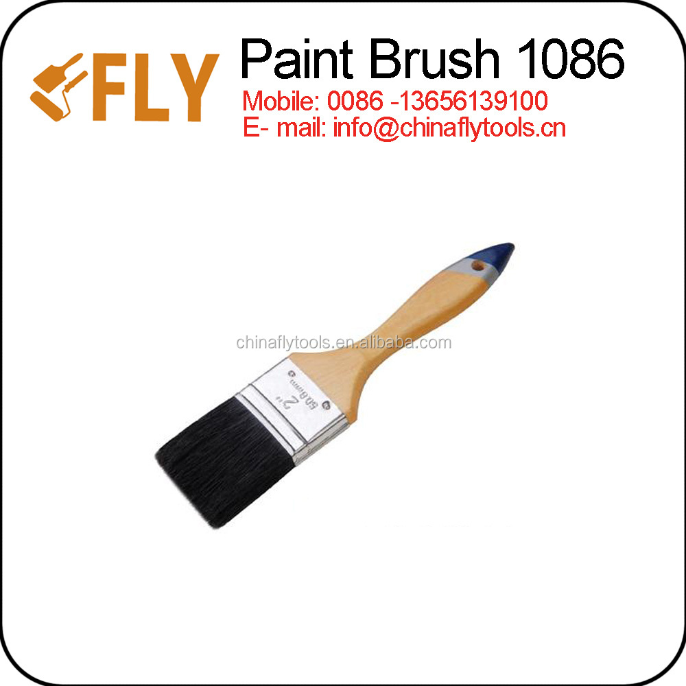wooden handle paint brush/brush paint brush/painting hand tools