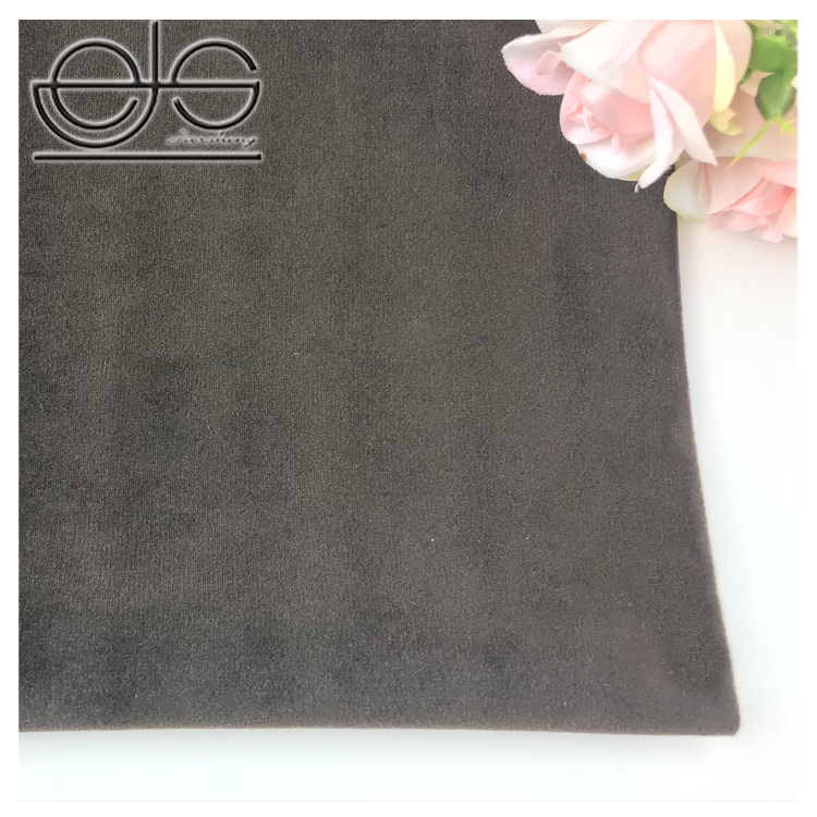 kwaliteit goedkope polyester grijs gordijn stof door de werf