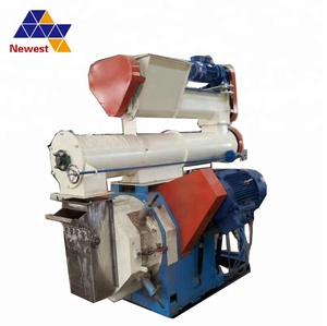20t/h Full automatic cattle mash feed production line/animal feed pellet press mill/chicken feed crushing and mixing machine
