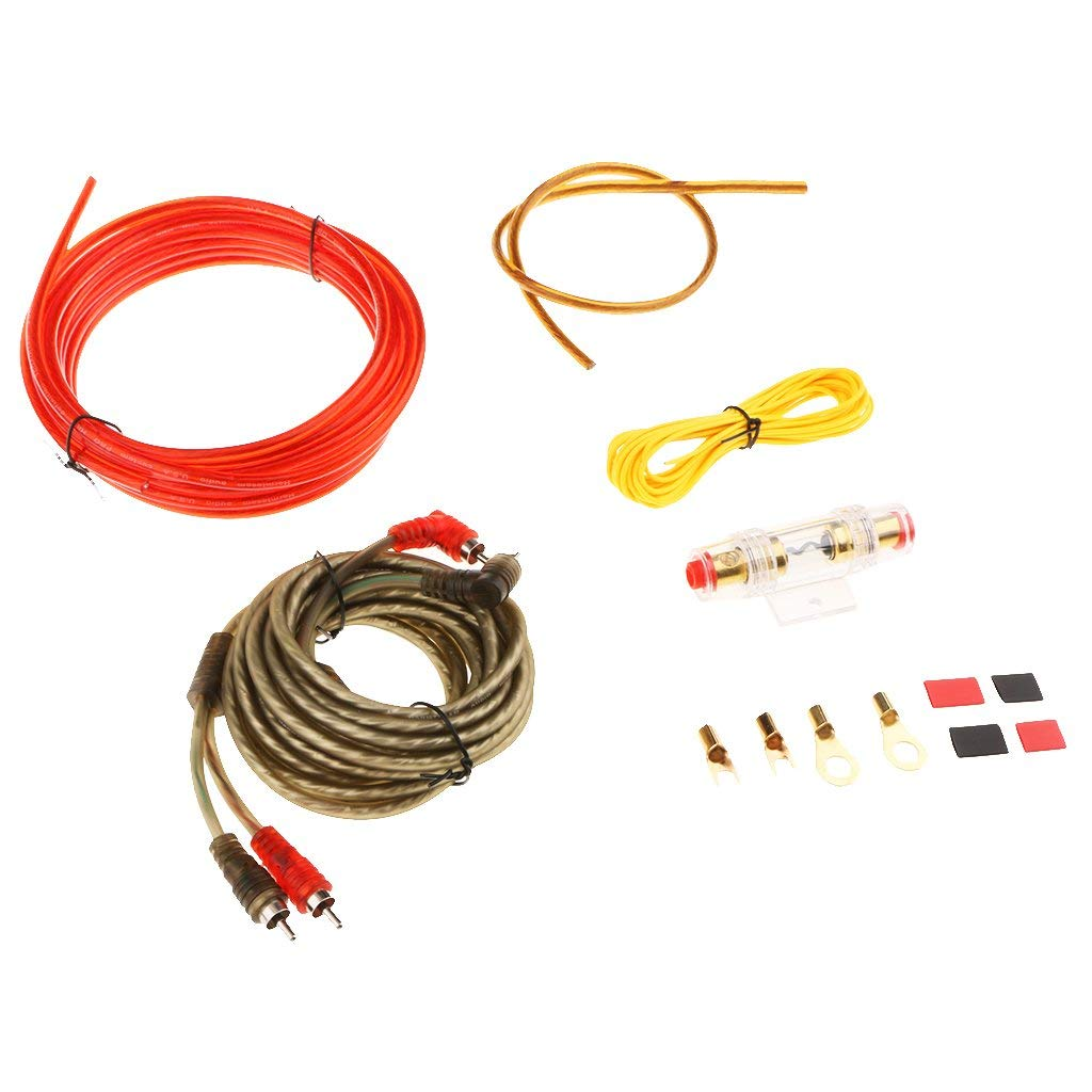 Cheap Wiring Amplifier Car Find Deals On Line Gauge 2channel Complete Kit Vehicle Wire Get Quotations Magideal Audio Subwoofer Amp Rca Ht 368 10ga