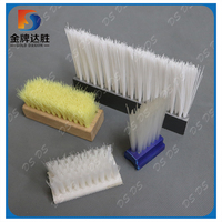 PVC Base Staple Set Food Cleaning Lath Brush