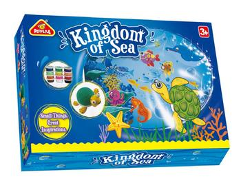 kingdom of sea educational toys for kid 2019 hot sale  EN71 ASTM  DIY modeling dough play dough