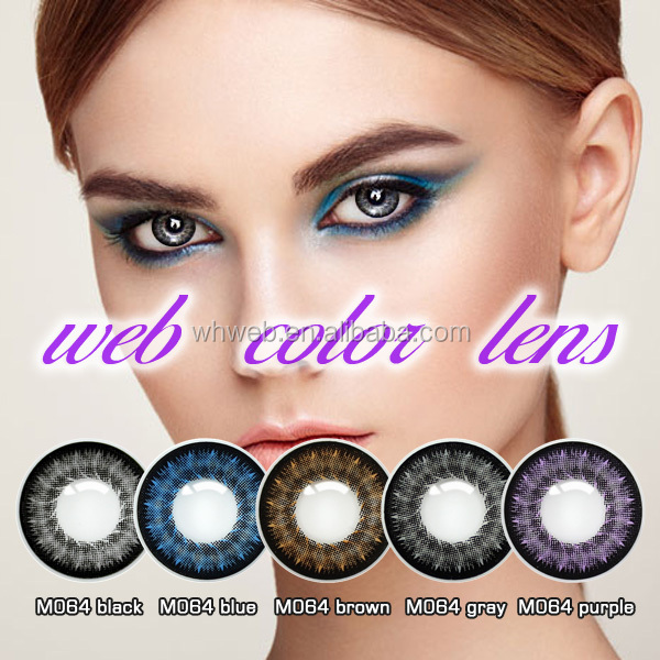 New Lace Series Beauty Style And Big Eyes Colored Contact Lenses/Can Mix Colors