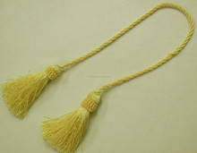Factory Made Plain Cheap Make Decorative Tassels