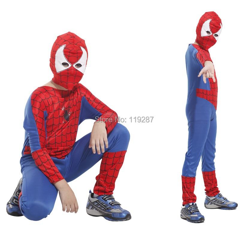 Get Quotations · Children Spiderman Costumes Boy Halloween Party Superman Cosplay Costume Spiderman Tight Muscle Jumpsuit For kid  sc 1 st  Alibaba & Cheap Walmart Kid Costumes find Walmart Kid Costumes deals on line ...