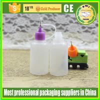 vapor juice pe 15ml needle cap e liquid plastic e liquid e juice dropper bottle with childproof