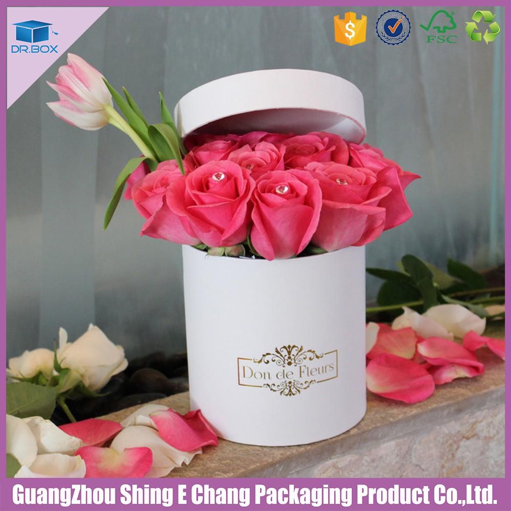 Bouquet De Fleurs En Boite