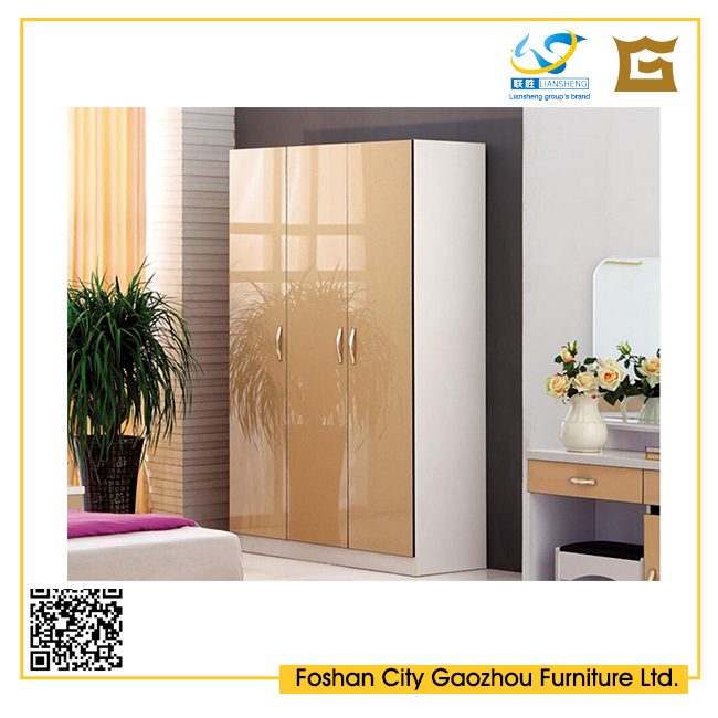 Double Color Wardrobe Design Furniture Bedroom