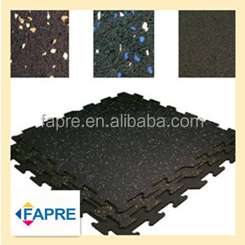 New Environmental Clean Flooring Interlocking Rubber Mat Gym - How to clean black rubber gym flooring