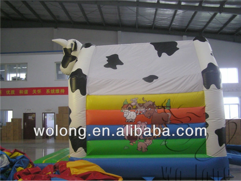 inflatable spider man bouncy castle, inflatable farm bounce house