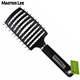New styling vent bristle brush hair, colorful hairbrush New Tangle Hair Brush Detangler Comb Professional Magic Straightening