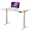 Adjustable Stand Up Desk With Stable Electric Lifting System & Standing Table Frame
