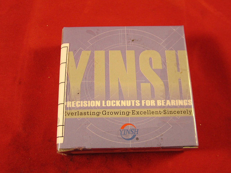 Yinsh Precision Bearing Locknut YSR-M10x0.75P Turning- Red