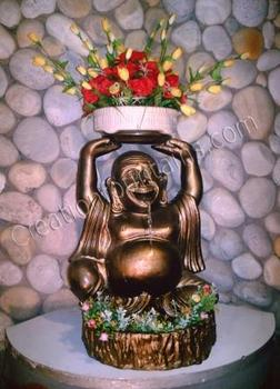 lachender buddha tabellen brunnen buy product on. Black Bedroom Furniture Sets. Home Design Ideas