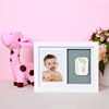 Kid Photo Frame Diy Footprint Handprint Imprint Cast Gift Set Picture With Soft Clay Decoration Novelty Gift for baby