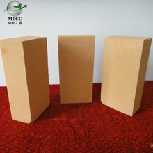 low porosity high density refractory brick for secondary refining furnace