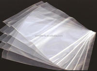 GRIP SEAL BAGS Self Resealable Poly zipper bag Clear Plastic Polythene zip lock bag with Small-Large ALLSIZES