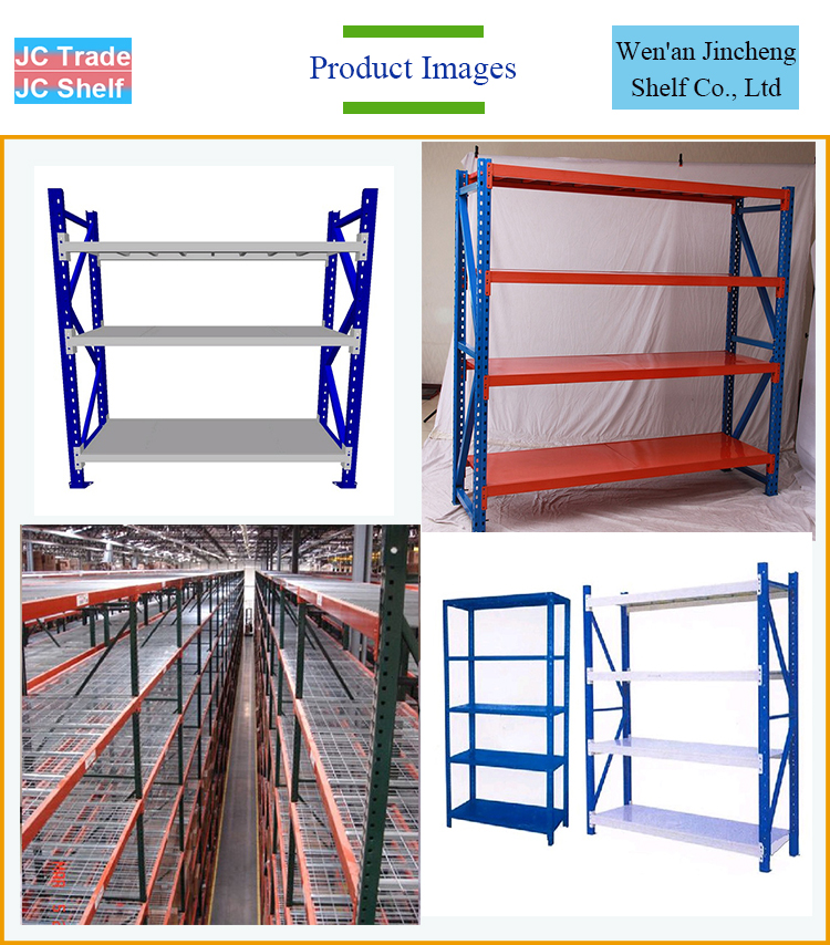 Cheap Long Span Light Duty Sheet Metal Storage Racks